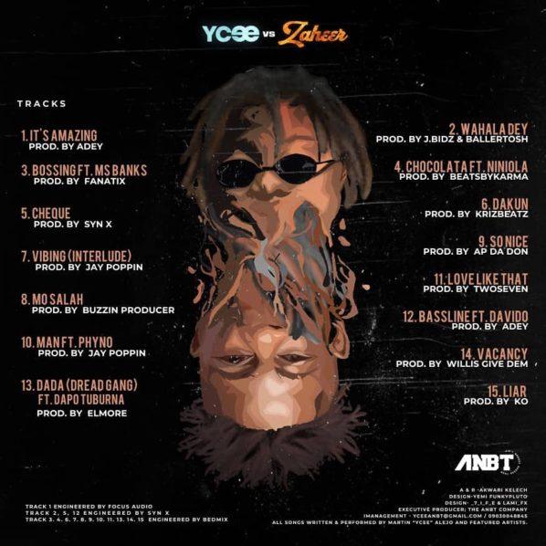 ALBUM: Ycee — Ycee vs Zaheer