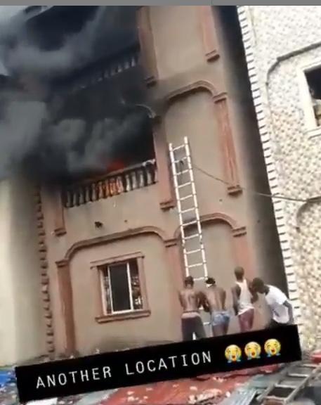 Fire Outbreak Hits Dosunmu, Lagos State
