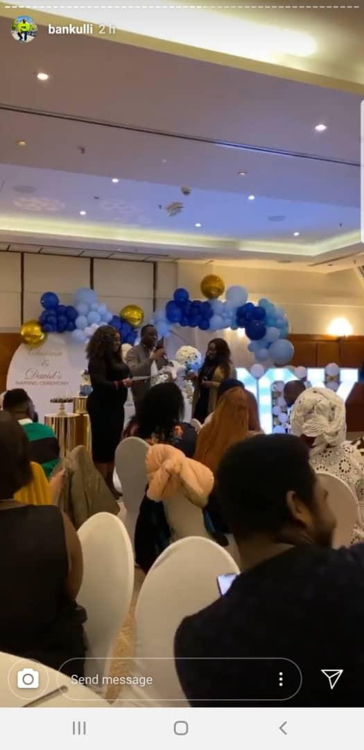 Photos From Naming Ceremony Of Davido and Chioma's Baby Boy David Jnr. Ifeanyi Adeleke