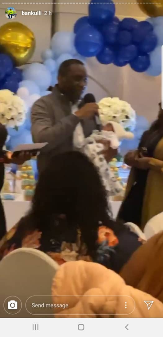 Photos From Naming Ceremony Of Davido and Chioma's Baby Boy David Jnr. Ifeanyi Adeleke 24