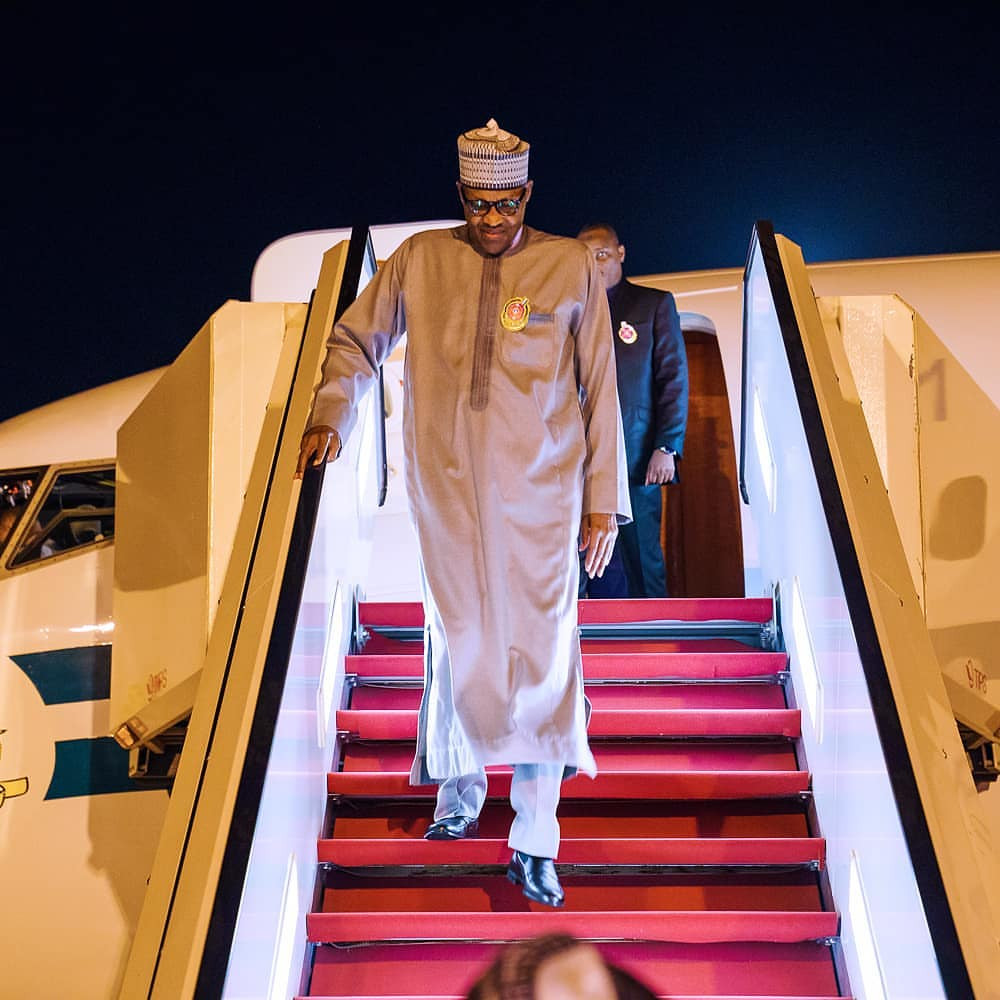 President Buhari Returns To Nigeria After Private Visit To The UK