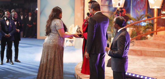 46-Year-Old Gospel Singer, Sinach Welcomes Her First Child After 5 Years Of Marriage