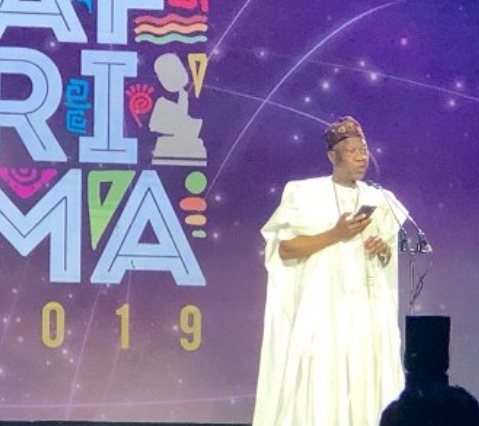 Lai Mohammed Mocked On Stage At The 6th AFRIMA Awards (Video)