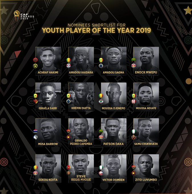 Full List Of Nominees For 2019 African Player of the Year Award