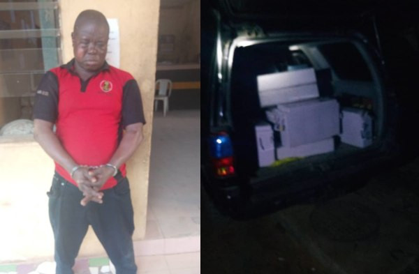 Knight Of Anglican Church Arrested For Theft In Lagos (Photos)
