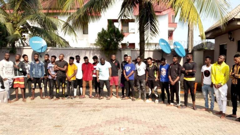 EFCC Discovers Yahoo-Yahoo Academy in Akwa Ibom (Photos)