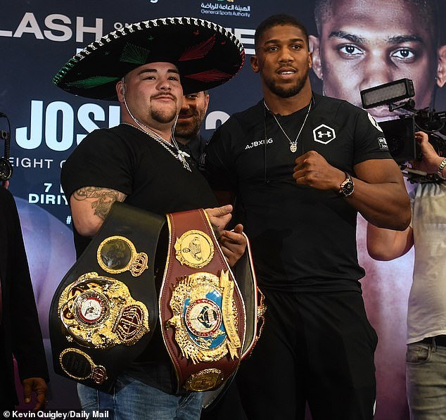 Ben Bruce Sends Message To Anthony Joshua Ahead Of His Rematch With Andy Ruiz