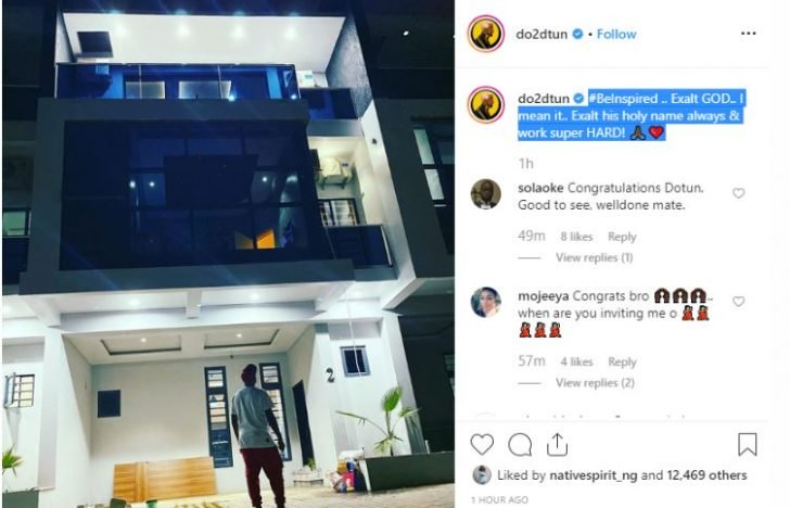 OAP, Dotun Buys Mansion For Himself (Photo)