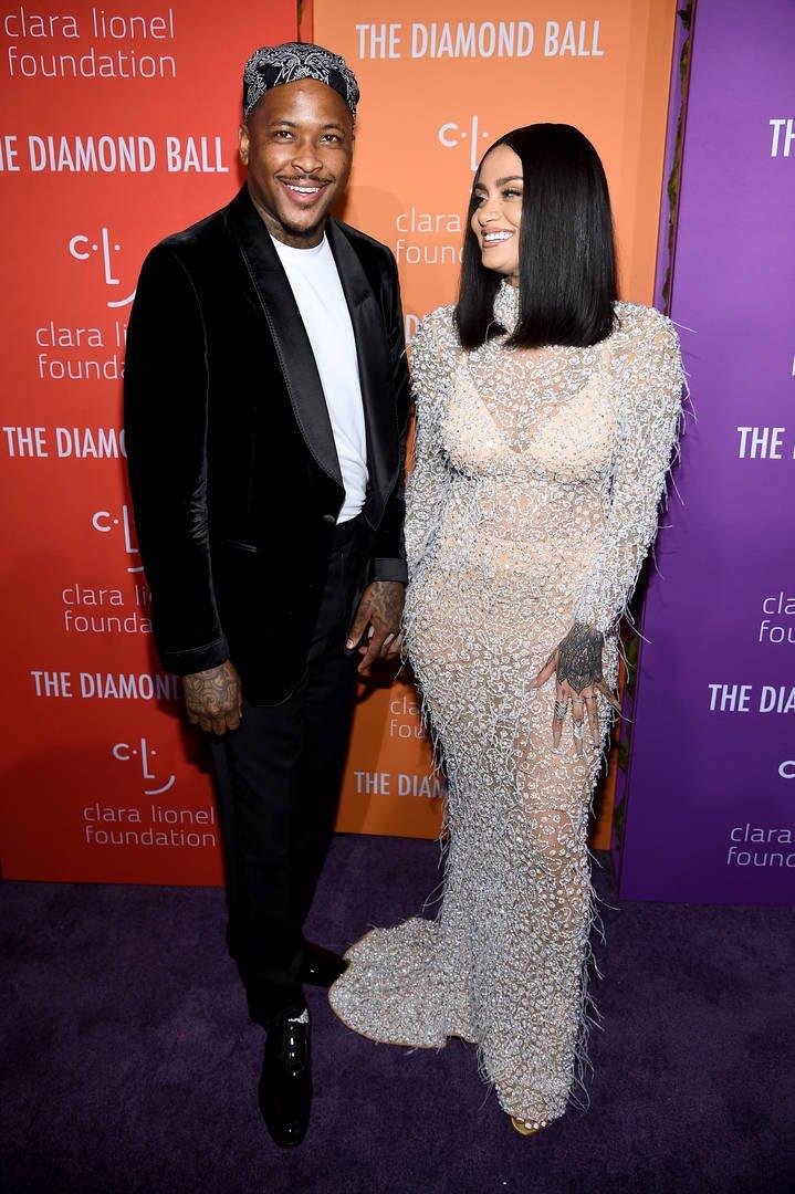 YG & Kehlani Steps Out Together In Beverly Hills For Birthday Get-Together