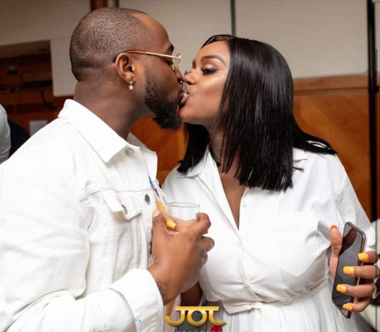 Chioma And Son, Ifeanyi Dances To A Song Off Davido's New Album (Video)
