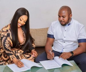 Tacha signs another endorsement deal