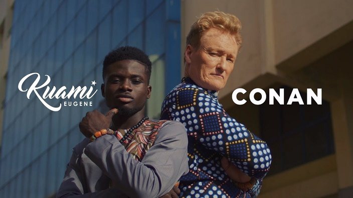 Kuami Eugene Ft. Conan O'Brien — For Love