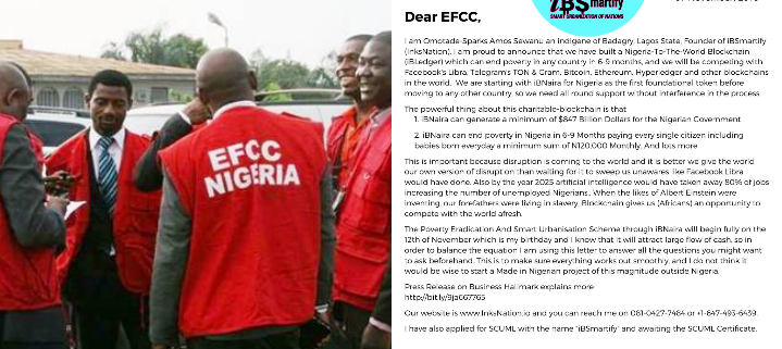 #LetterToEFCC: Nigerian Man Shares Plan To Eradicate Hunger From Nigeria Within 6 Months, Generate $847 Billion For FG