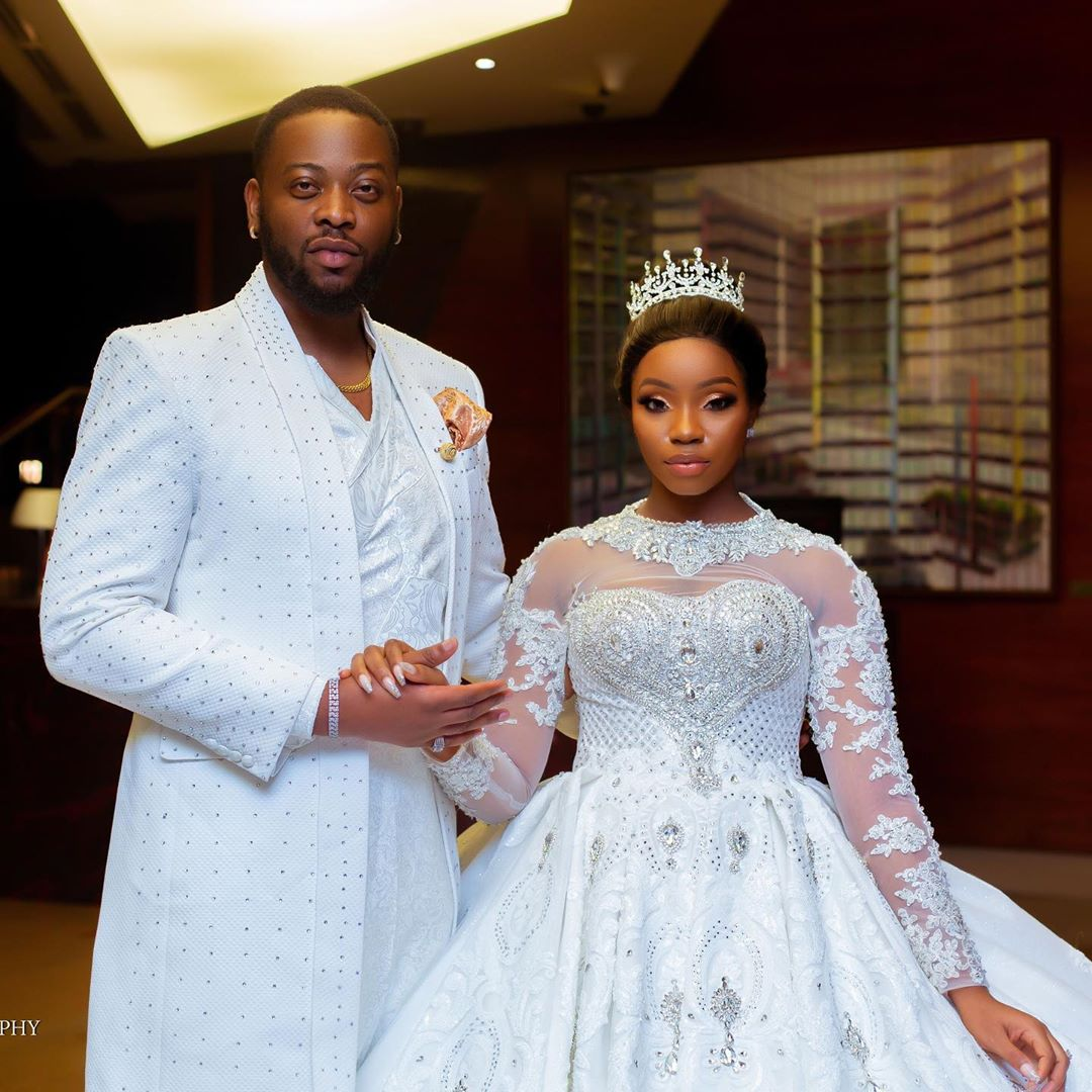 #BBNaija's Teddy-A And BamBam Welcomes Baby Girl