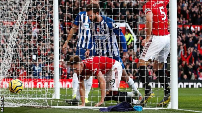 VIDEO: Manchester United 3 – 1 Brighton — Premier League Highlight
