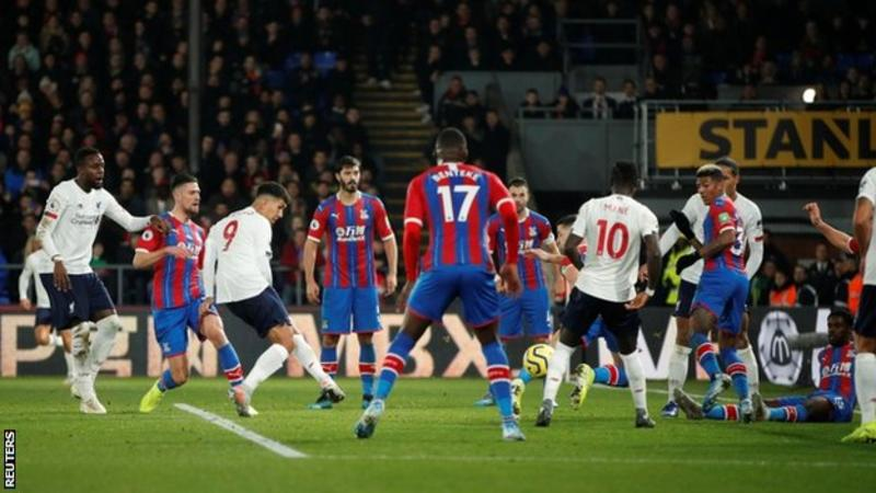 Crystal Palace 1 – 2 Liverpool