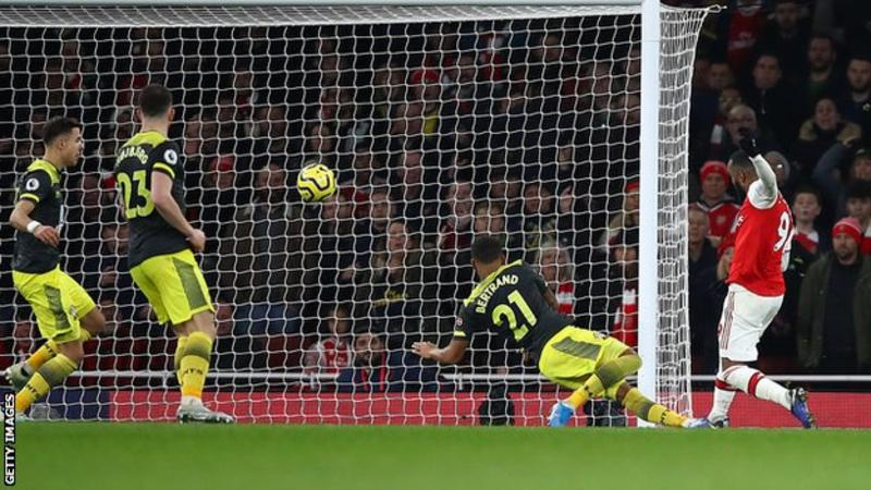 Arsenal 2 – 2 Southampton