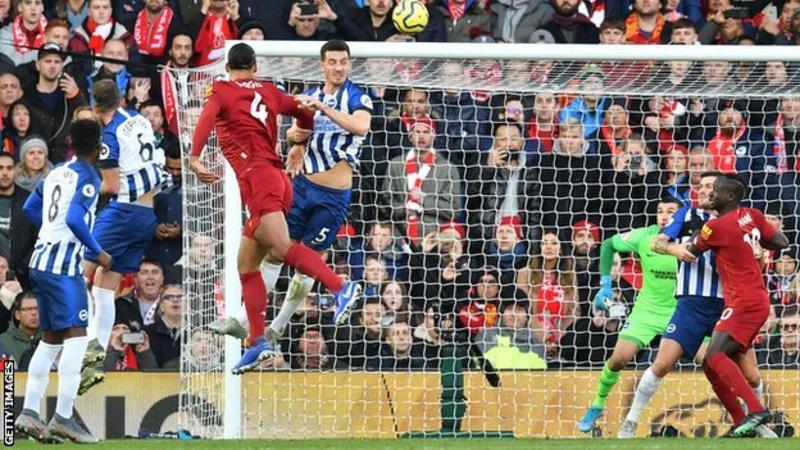 VIDEO: Liverpool 2 – 1 Brighton — Premier League Highlight