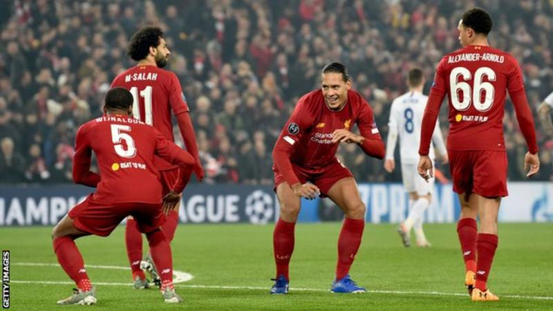 Liverpool 2 – 1 Genk Champions League Highlight Download