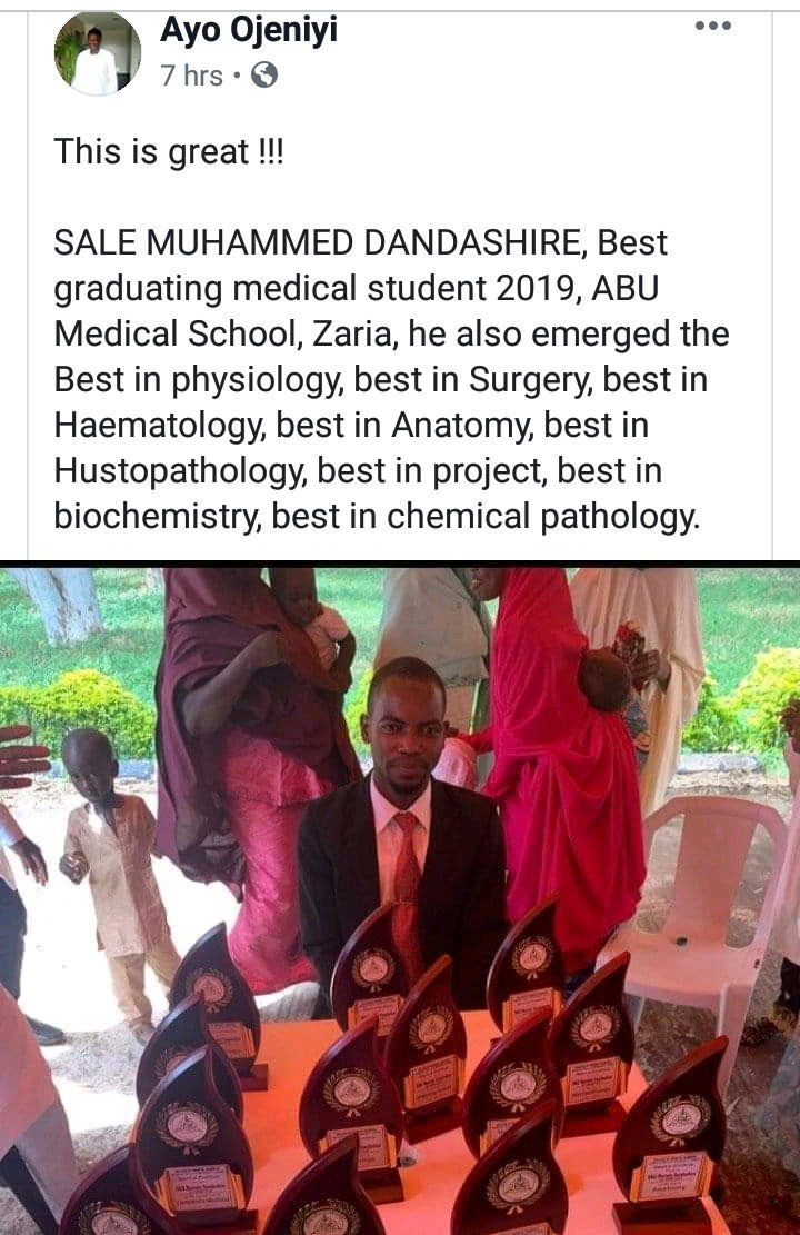 Best Graduating Medical Student From ABU Zaria Bags 13 Awards 6