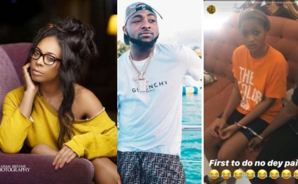 Tboss Condemns Davido For Putting Girls Who Accused Him Of Impregnating One Of Them On Handcuff 3
