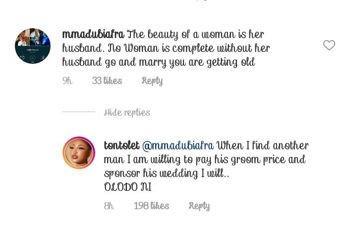 I'll Pay The Groom Price, If I Find Another Man - Tonto Dikeh 12