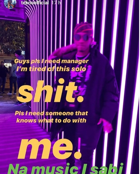 I need a manager