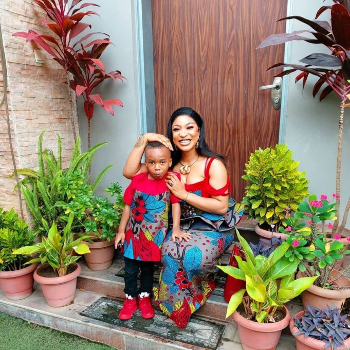 My Son's School Fees Cost Over N1.5m – Tonto Dikeh