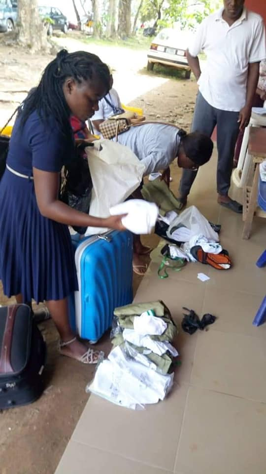 Two Corp Members Dismissed From NYSC Camp For Refusing To Wear Trousers (Photos)
