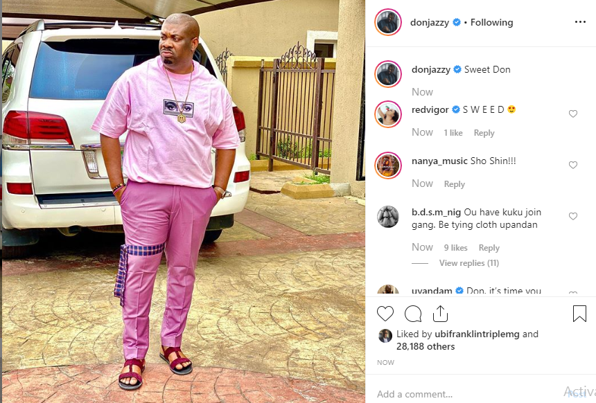Don't Belittle Women — Don Jazzy Tells Actress Uyanda Mbuli For Asking Him To Get A Wife To Iron His Clothes