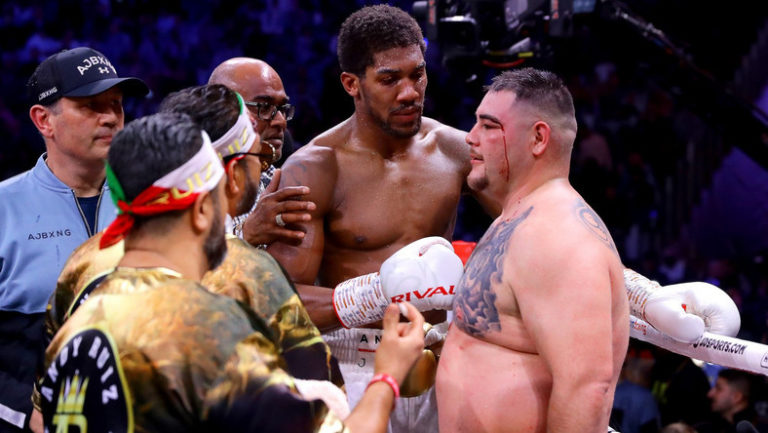 Andy Ruiz Reveals Why He Lost To Anthony Joshua