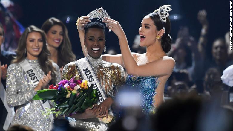 Miss South Africa Zozibini Tunzi Has Been Crowned Miss Universe 2019