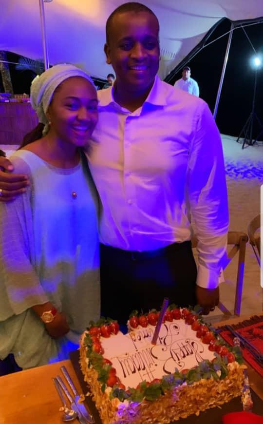 Photos From Zahra Buhari's Husband's Birthday Dinner In Mauritius 5