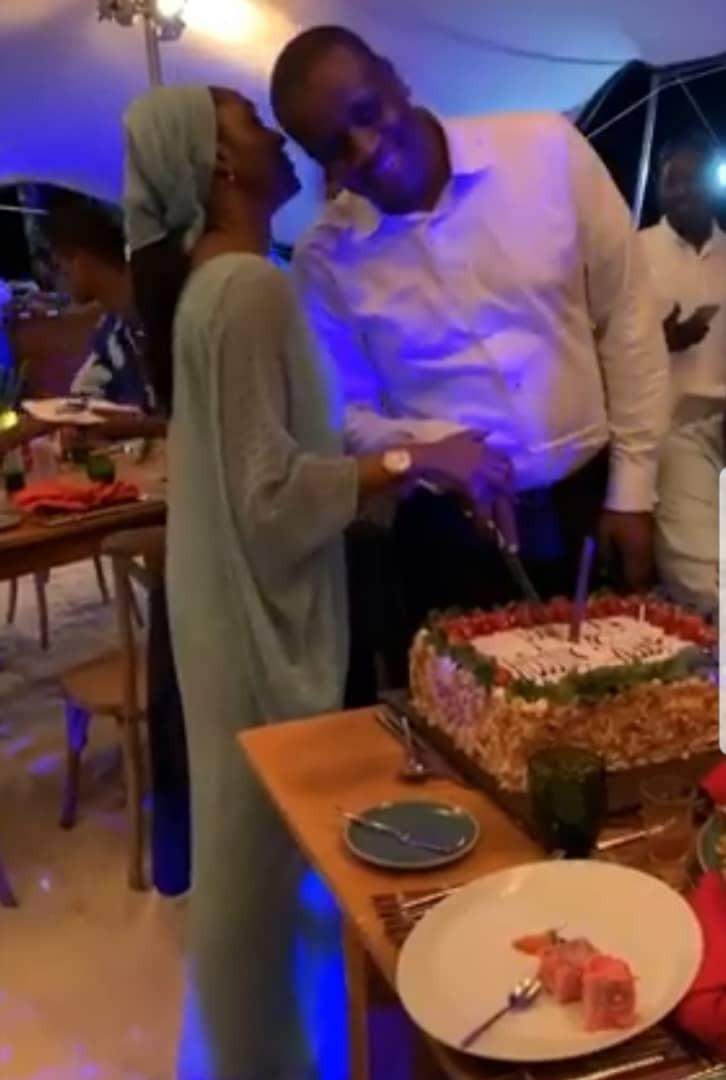 Photos From Zahra Buhari's Husband's Birthday Dinner In Mauritius 6