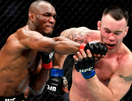 #UFC245: Kamaru Usman Of Nigeria Beats Colby Covington To Win His 11th Straight UFC Fight