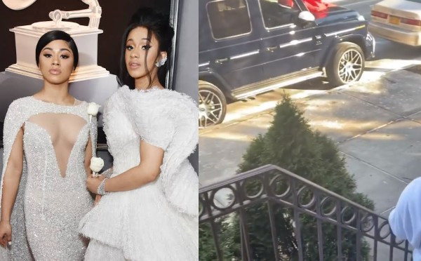 Cardi B Gifts Her Sister Hennessy G-Wagon On Her 24th Birthday (Video) 7