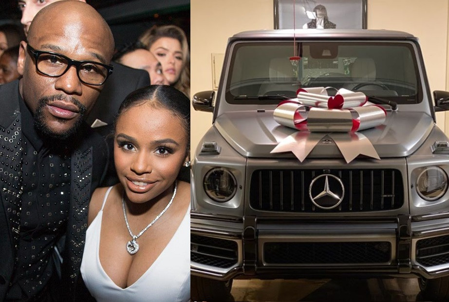Floyd Mayweather Gifts His 19-Year-Old Daughter G-Wagon As Christmas Gift (Photos)