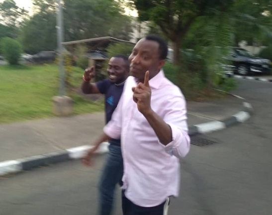 Omoyele Sowore Has Been Released By SSS (Photos) 8