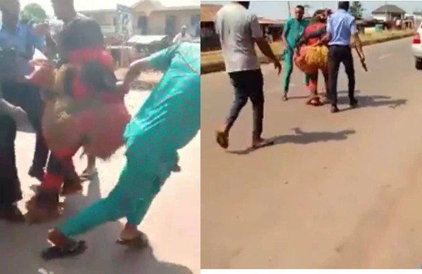 Masquerade Arrested In Anambra State (Video)