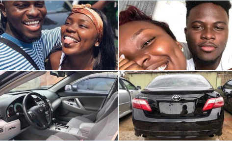 Lady Whose Picture Circulated On Social Media With Claims That She Saved For 2 Years And Bought Her Boyfriend A Car DENIES Doing Such