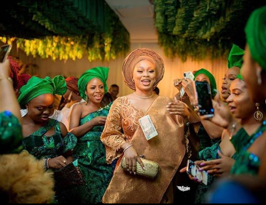 See Photos From 9ice And Sunkanmi's Court And Traditional Wedding 16
