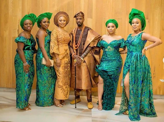 See Photos From 9ice And Sunkanmi's Court And Traditional Wedding 19