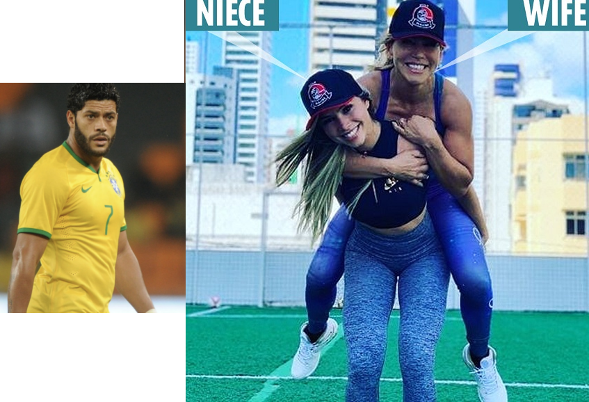 Footballer Hulk Now Dating His Ex-Wife's Niece After Their Divorce
