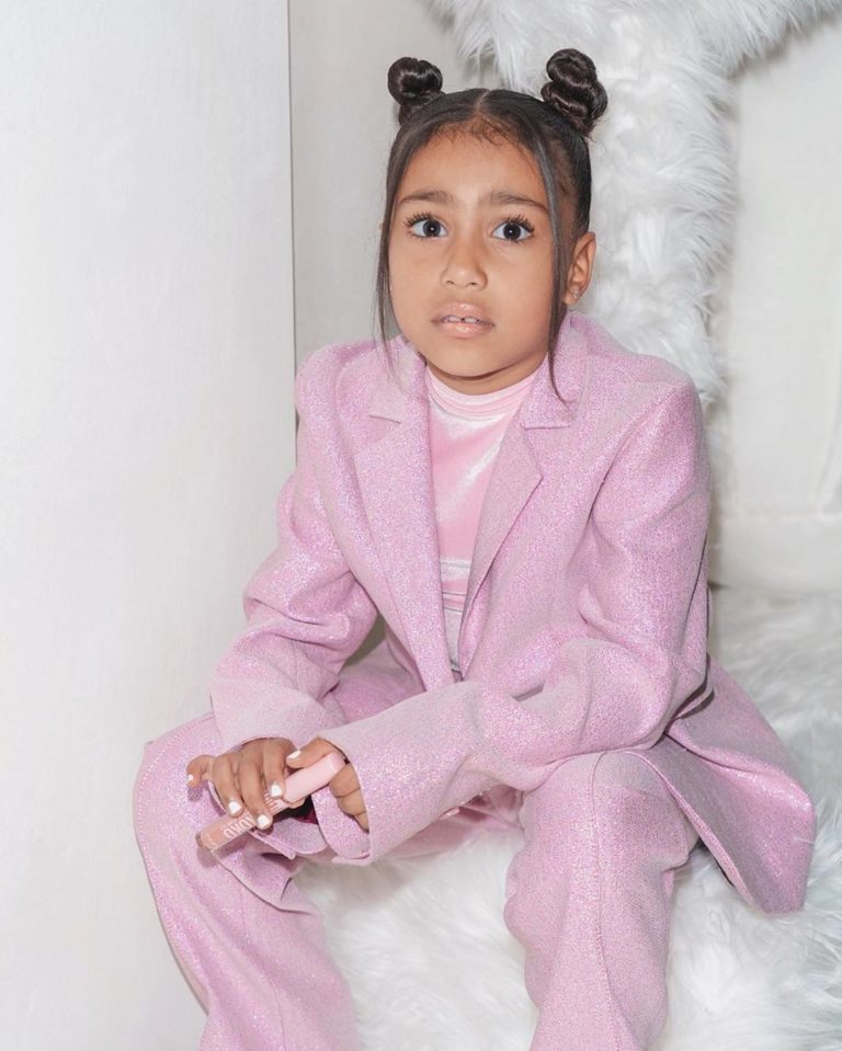 Kim Kardashian Gifts Her 6-Year-Old Daughter Micheal Jackson's Jacket Which Worth ₦23.6 Million
