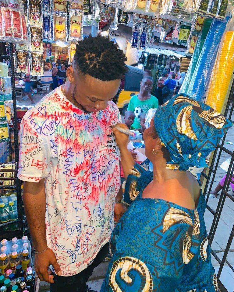 Poco Lee Graduates From Lagos State University, Celebrates With His Mum (Photos)