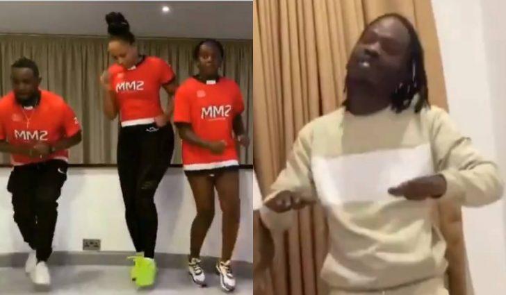 AY And His Family Dance To Naira Marley's Tesumole (Watch Video)