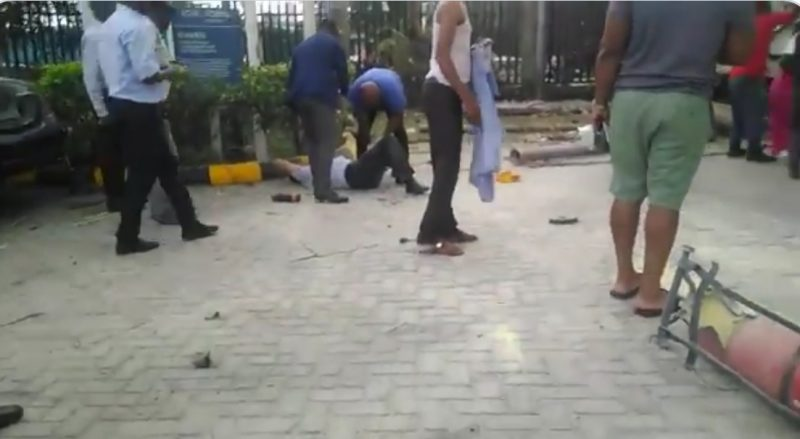 Gas Explodes In Lagos, 3 Persons Injured