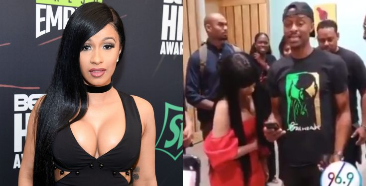 Cardi B Meets Shadyville Who Became Popular After Mimicking Her On Instagram (Video)