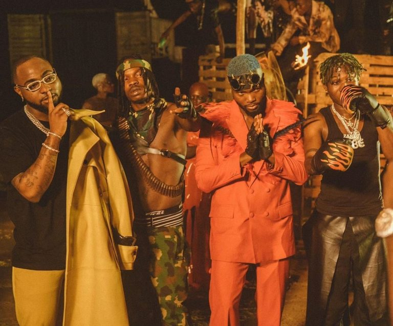 Davido Ft. Naira Marley, Zlatan, WurlD Sweet In The Middle Mp4 Download