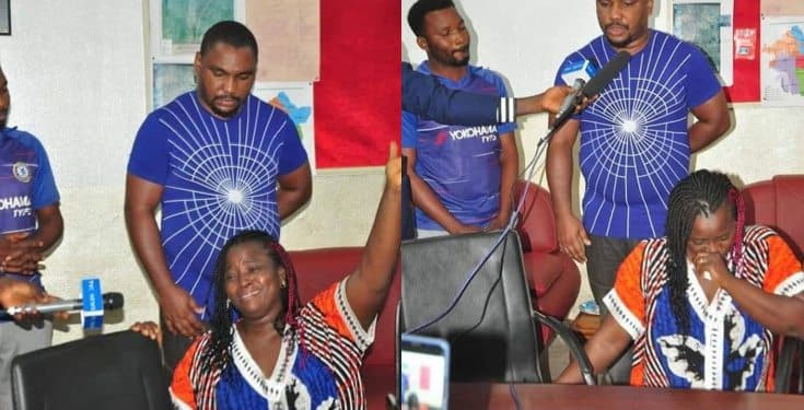 Enugu Lady Who Slammed Her Househelp On The Floor In Viral Video Has Been ARRESTED